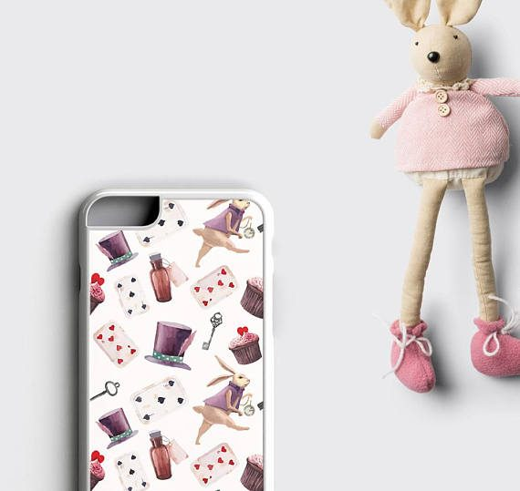 Alice in Wonderland iPhone 6 Case Alice iPhone 7 plus Case