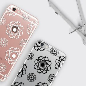 Atom iPhone 8 Case, Atomic Galaxy S8 Case