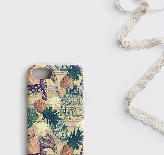 Boho iPhone Case Bohemian Elephant iPhone 8 Plus Case