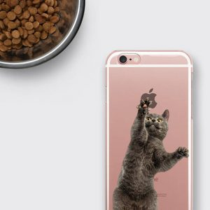 Cat iPhone 8 Case, Cat Samsung Galaxy S8 Plus Case