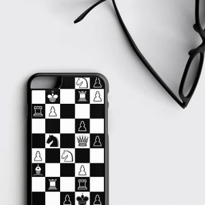 Chess iPhone 8 Case, Chess Geek Nerd Gift
