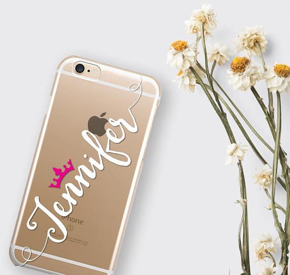 save off 28730 f5494 Clear iPhone X Case Personalized iPhone 8 Plus Case - zoobizu.com