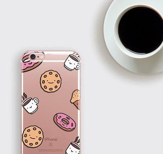 Cute Clear iPhone 7 Case Coffee iPhone 6S Case