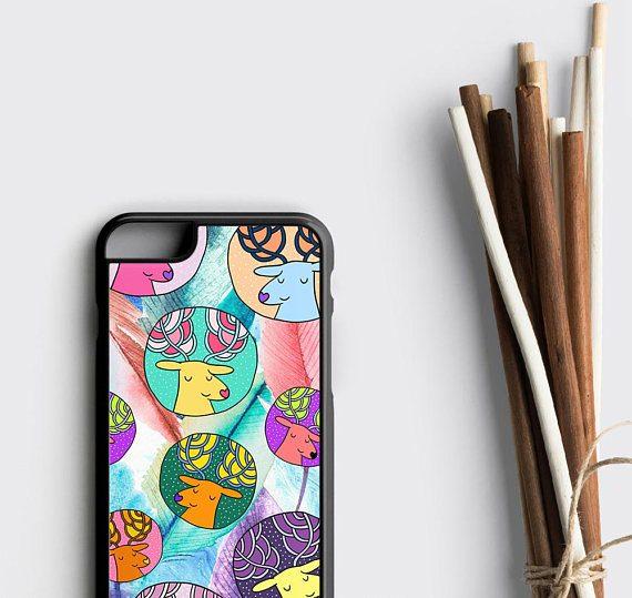 Cute Deer iPhone 6S Case iPhone 7 Case Daughter Gift iPhone SE Case