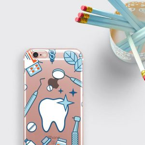 Dentist Phone Case Teeth iPhone 7 Case Dentist Gift Samsung S8 Case