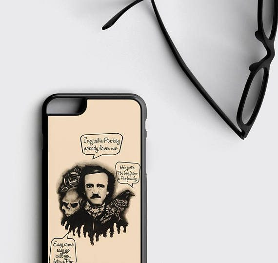 Edgar Allan Poe iPhone 6 Case Edgar Allan Poe iPhone 6S Case