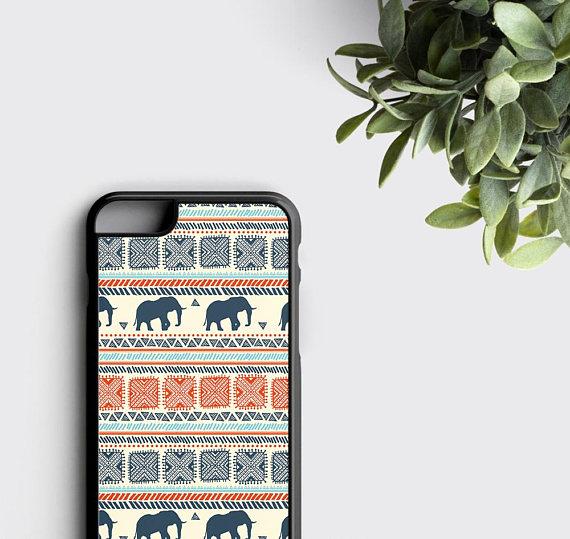 quality design a7d31 00f6b Elephant iPhone 7 Case iPhone 6S Plus Case Tribal iPhone X Case -  zoobizu.com