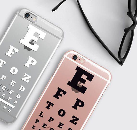 Eye Chart iPhone Case Optometrist gift iPhone 8 Case