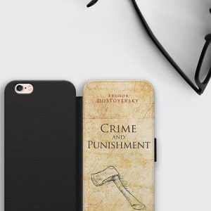 Fyodor Dostoyevsky iPhone 7 Case Crime and Punishment Samsung S8 Plus Cover