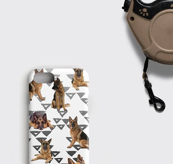German Shepherd Phone Case Dog Lover iPhone 8 Case
