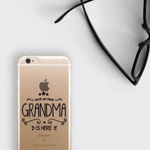 Grandma Gift Phone Case Have No Fear Grandma is Here iPhone 8 Case