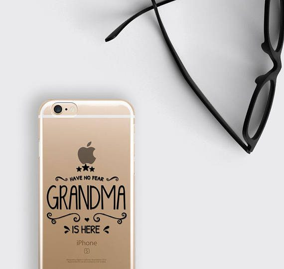Grandma Gift Phone Case Have No Fear Grandma is Here iPhone 8 Case