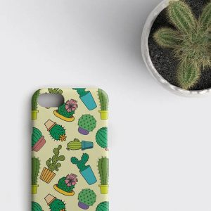 iPhone 6 Case, Cactus iPhone 6S Case, iPhone X Case Cactus, Cactus iPhone 6 Plus, iPhone SE Case, Succulent iPhone 7/6S/6/X Cover, Cacti