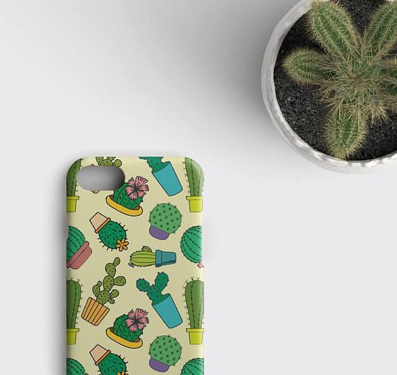 size 40 a157f bc141 iPhone 6 Case, Cactus iPhone 6S Case, iPhone X Case Cactus, Cactus iPhone 6  Plus, iPhone SE Case, Succulent iPhone 7/6S/6/X Cover, Cacti - zoobizu.com