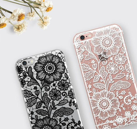 iPhone 7 Case Lace iPhone 6 Case Gift for Her