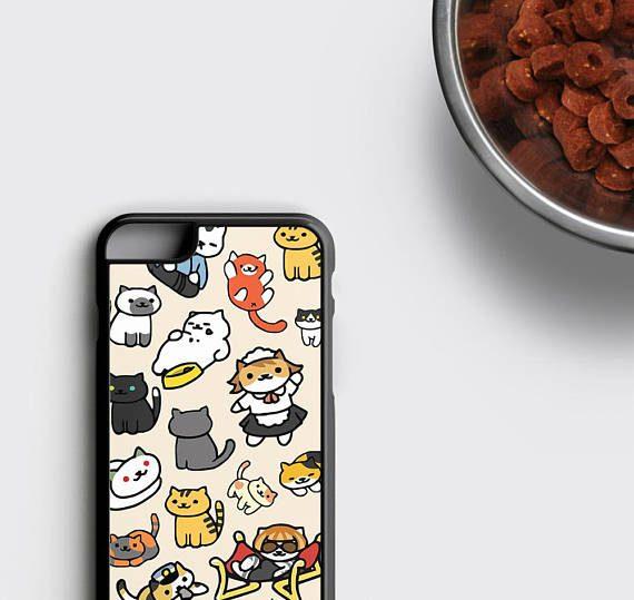 Neko Atsume iPhone 6S Case, Kawaii iPhone 6 Case