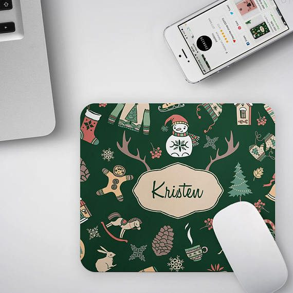 Personalized Christmas Mouse Pad