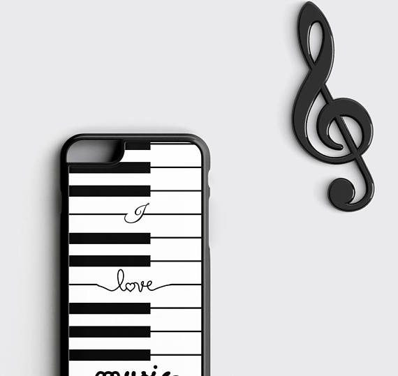 Piano iPhone 6S Case, Music iPhone 6 Case