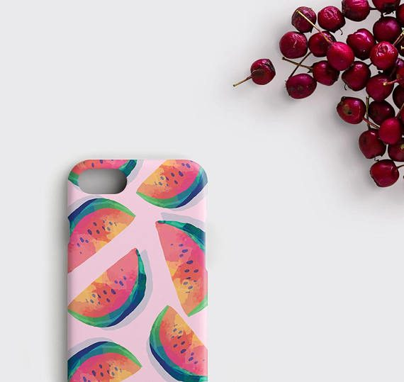 Pink Watermelon iPhone X Case Tourmaline Phone Case