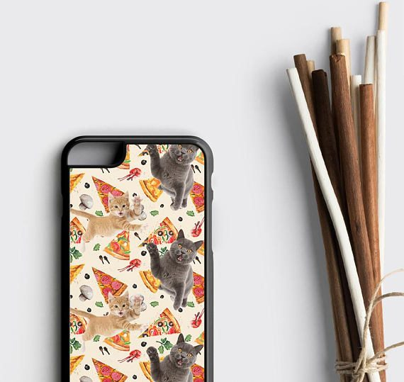 Pizza Party iPhone X Case, Tumblr Gift for Her Samsung Note 8 Case