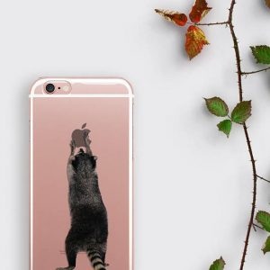 Raccoon iPhone 7 Case, Raccoon Samsung Galaxy S8 Case