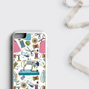 Sewing Phone Case iPhone 7 Case Sew Machine iPhone 6S Case