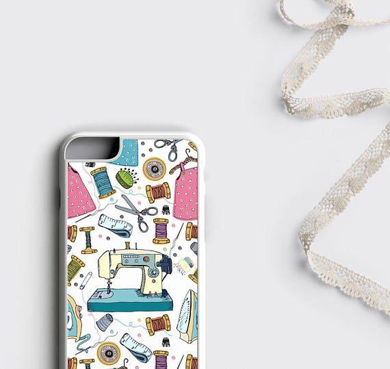 Sewing Phone Case iPhone 7 Case Sew Machine iPhone 6S Case