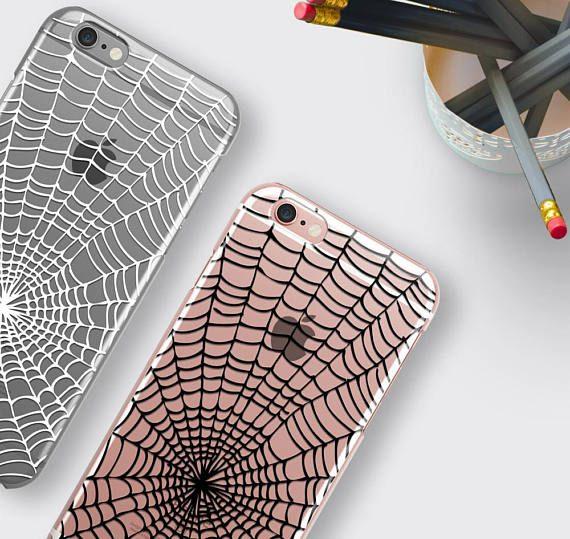 Spider Web Phone Case Samsung Galaxy S8 Case Halloween iPhone 7 Case