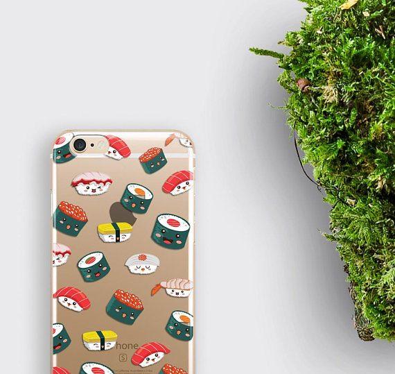 Sushi iPhone 6 Case Clear iPhone 7 Case