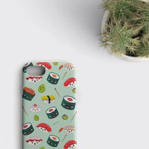 Sushi iPhone 8 Case Kawaii iPhone X Case