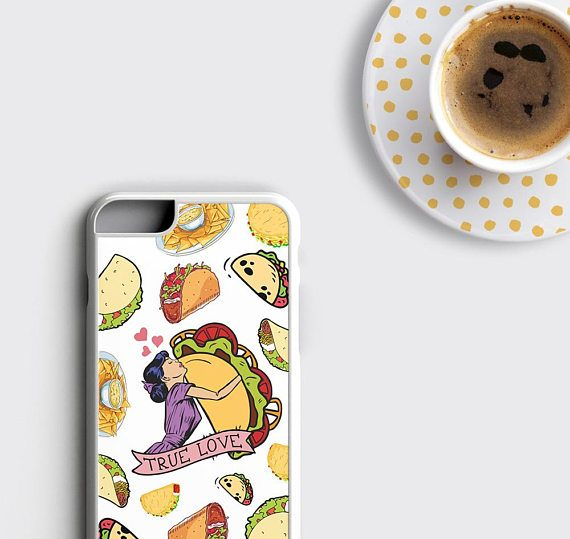 Taco Lover Gift iPhone 8 Case, Tacos Tuesday iPhone 7 Plus Case
