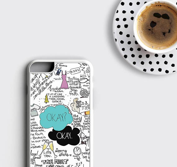 huge selection of 7c8a8 387be The Fault in Our Stars iPhone 7 Case Okay Okay iPhone 6s Case John Green  iPhone 6 Plus Case - zoobizu.com