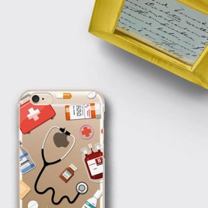 Women Doctor Gift Phone Case Medical Student Graduation Gift iPhone 7 Case