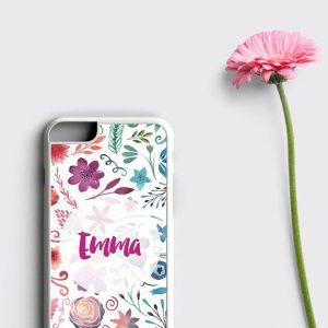 Monogram iPhone 6S Case, Floral iPhone 6 Case