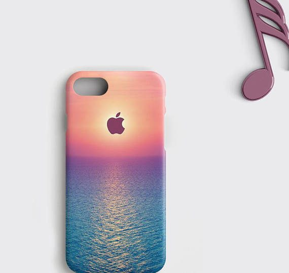 Sunset iPhone 7 Plus Case Florida Ocean Samsung Galaxy S8 Case