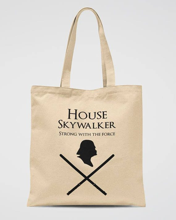 Darth Vader Tote Bag Star Wars Gift Canvas Bag