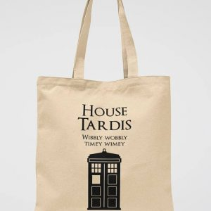 Doctor Who Tote Bag Tardis Police Box Shoulder Bag