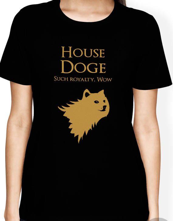 Doge Shirt, Doge Meme Shirt, Funny Doge Shirt, Game of Thrones Shirt, Doge Shiba inu Shirt
