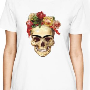 Frida Kahlo Shirt, Frida Kahlo Skull Shirt, Frida Kahlo T Shirt