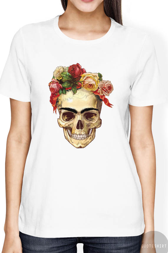 a76004bf0 Frida Kahlo Shirt, Frida Kahlo Skull Shirt, Frida Kahlo T Shirt ...