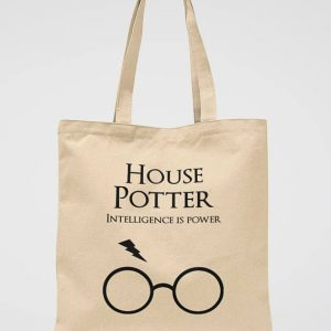 Harry Potter Gift Tote Bag Hogwarts Party Library Bag