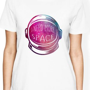 I need more space shirt, Astronaut helmet shirt with galaxy design, Astronaut Shirt