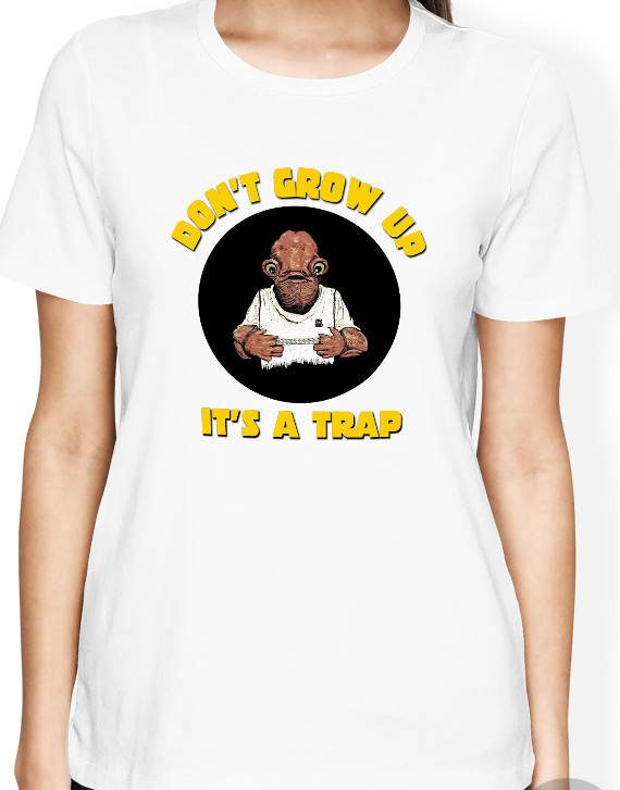 Its a trap Shirt, Admiral Ackbar Shirt, Its a Trap Tshirt, Star Wars Women Shirt