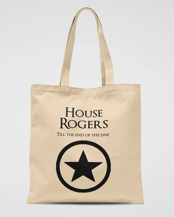 Marvel Party Tote Bag Captain America Book Bag