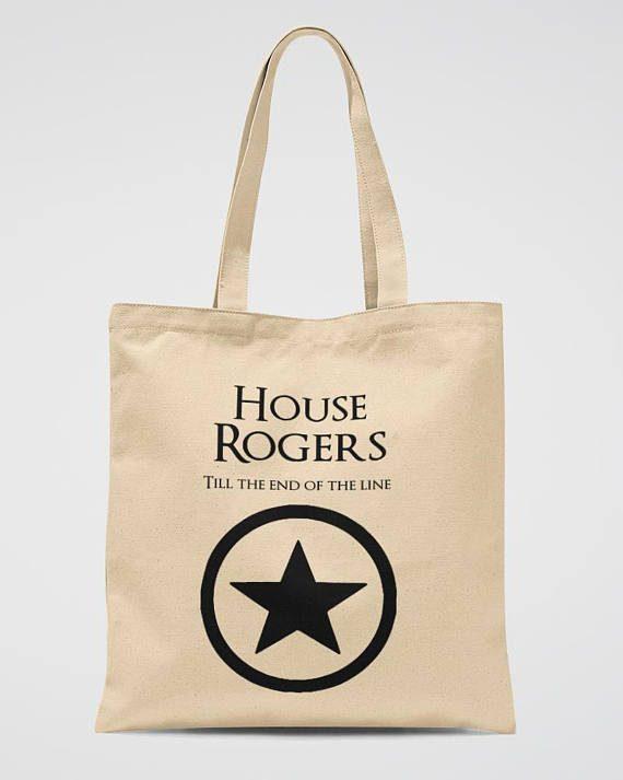 Marvel Party Tote Bag Captain America Book Bag