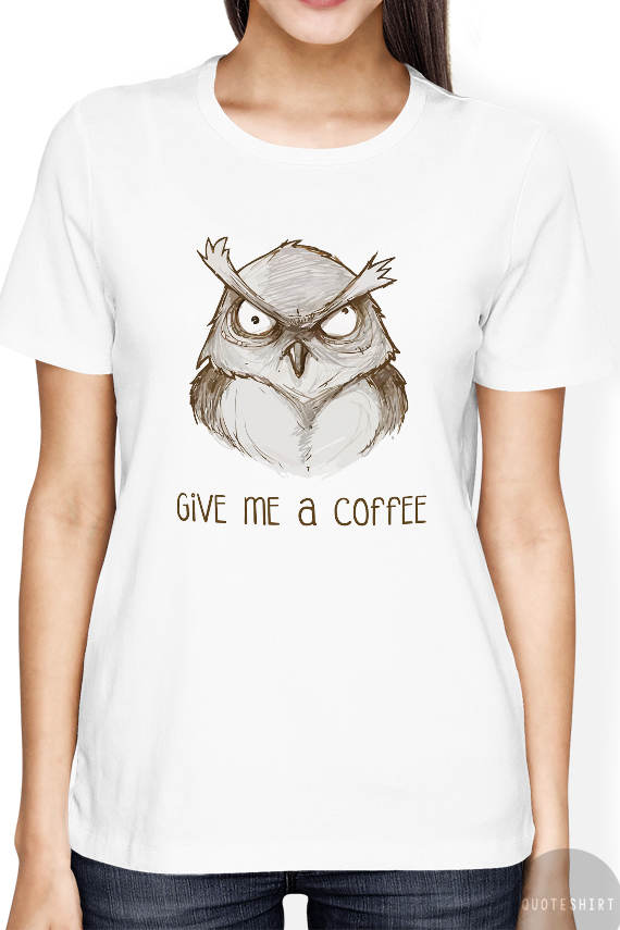 Owl t shirts kamos t shirt T shirt with owl design