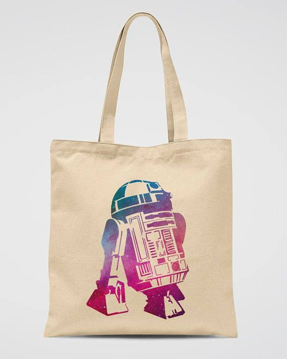R2D2 Tote Bag Star Wars Robot Shoulder Bag