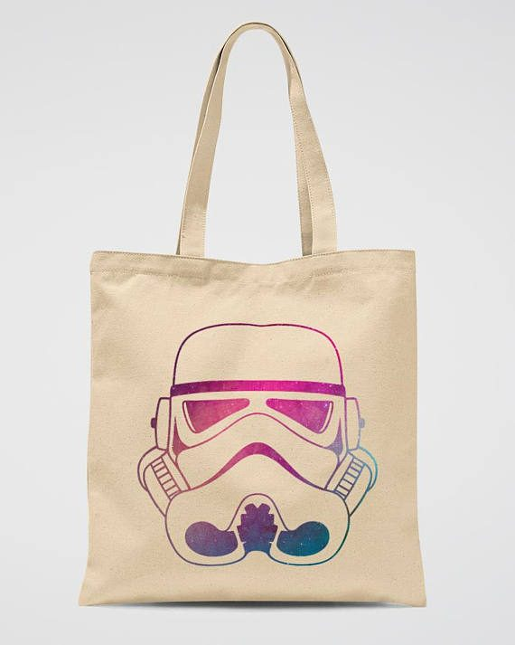 Stormtrooper Tote Bag Star Wars Party Gift Bag