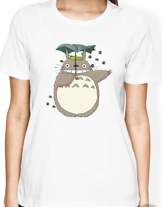 Totoro Shirt, My Neighboor Totoro Shirt, Anime Shirt