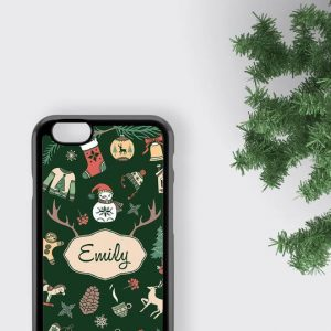 Christmas iPhone XR Case, Personalized iPhone 11 Pro Max Case